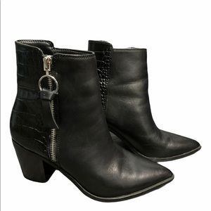 Leather Aldo ankle boots 6